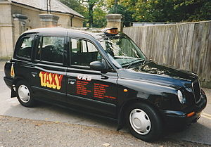 Bob and Roberta Smith - Taxy (1999) by Bob and Roberta Smith, a work from the Cab Gallery