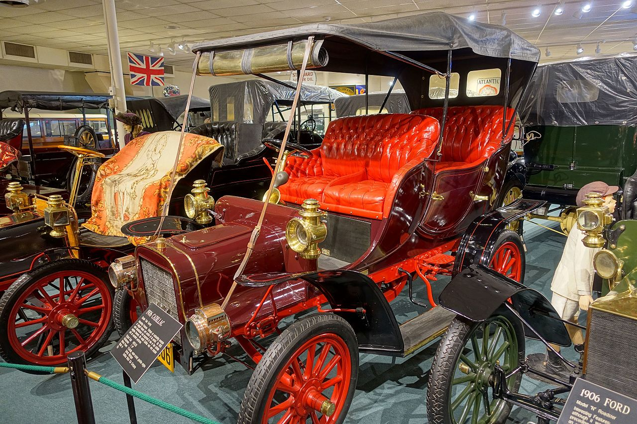 File cadillac double tulip touring automobile 1906 made for Cadillac motor car company
