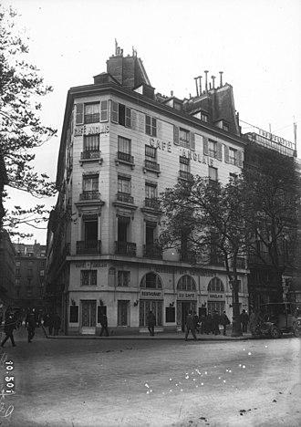 Café Anglais - The Café Anglais some months before its destruction