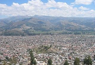 Cajamarca Place in Peru
