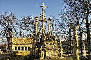 calvaire et ossuaire du cimetière de Guéhenno