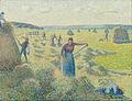 Camille Pissarro - La Récolte des Foins, Éragny - Google Art Project.jpg