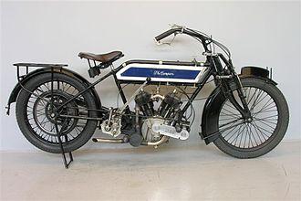 Campion Cycle Company - A 1913 Campion motorcycle