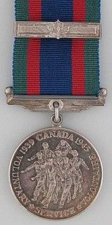Canadian Volunteer Service Medal Canadian medal