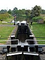 Canal lock at Swanbach - geograph.org.uk - 183745.jpg