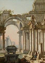 Capriccio with Ruins