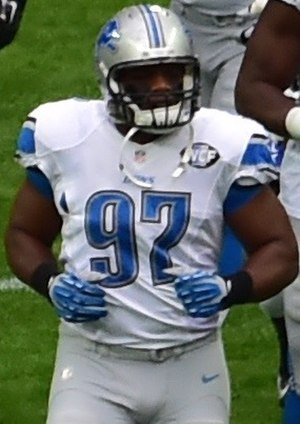 Caraun Reid - Reid with the Detroit Lions in 2014