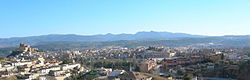 Panorama of Caravaca