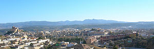 Caravaca de la Cruz - Panorama of Caravaca