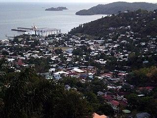 Carenage community in Trinidad and Tobago