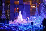 Caretta Shiodome at night 2.JPG