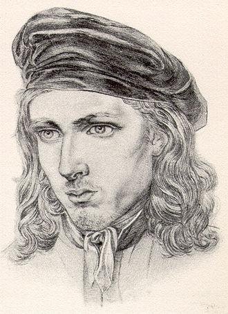 Karl Philipp Fohr - Portrait of Fohr by Carl Barth, c. 1817