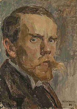 Carl Wilhelmson Self-portrait 1888.jpg