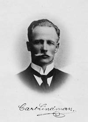 Carl Axel Magnus Lindman - Image: Carl axel magnus lindman