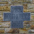 Carmel of Saint Joseph (Terre Haute, Indiana) - exterior, cornerstone.jpg
