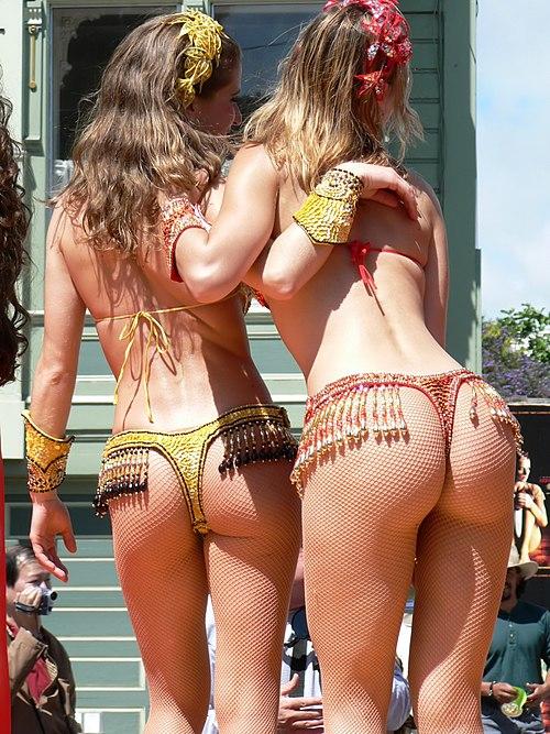 Carnaval San Francisco 2005 - Samba dancers