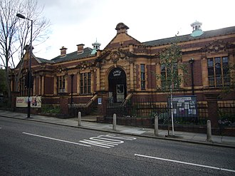 Herne Hill - The Carnegie Library, Herne Hill Road