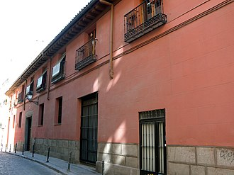 Casas a la malicia - An example of a Casa a la malicia in Barrio de La Latina, Madrid.