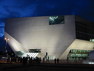 Casa da Música - Casa da Música on opening day (14 April 2005)