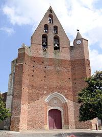 Castelmayran.- Église Saint-Maffre -1.JPG