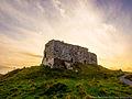 Castle of Dunamase im Abendlicht 03.jpg