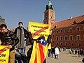 Catalan political prisoners in Warsaw 03.jpg