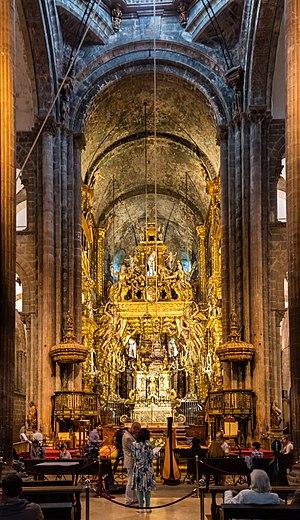 Santiago de Compostela - Interior of the Cathedral.