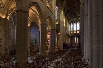 Roman Catholic Diocese of Rodez - Interior of the Cathedral, Rodez