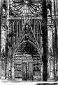 Cathédrale Notre-Dame - Portail central de la façade ouest - Strasbourg - Médiathèque de l'architecture et du patrimoine - APMH00007656.jpg