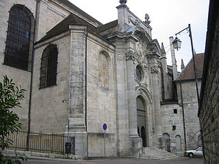 cathedral located in Doubs, in France