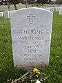 Catherine F. Nimitz headstone.JPG