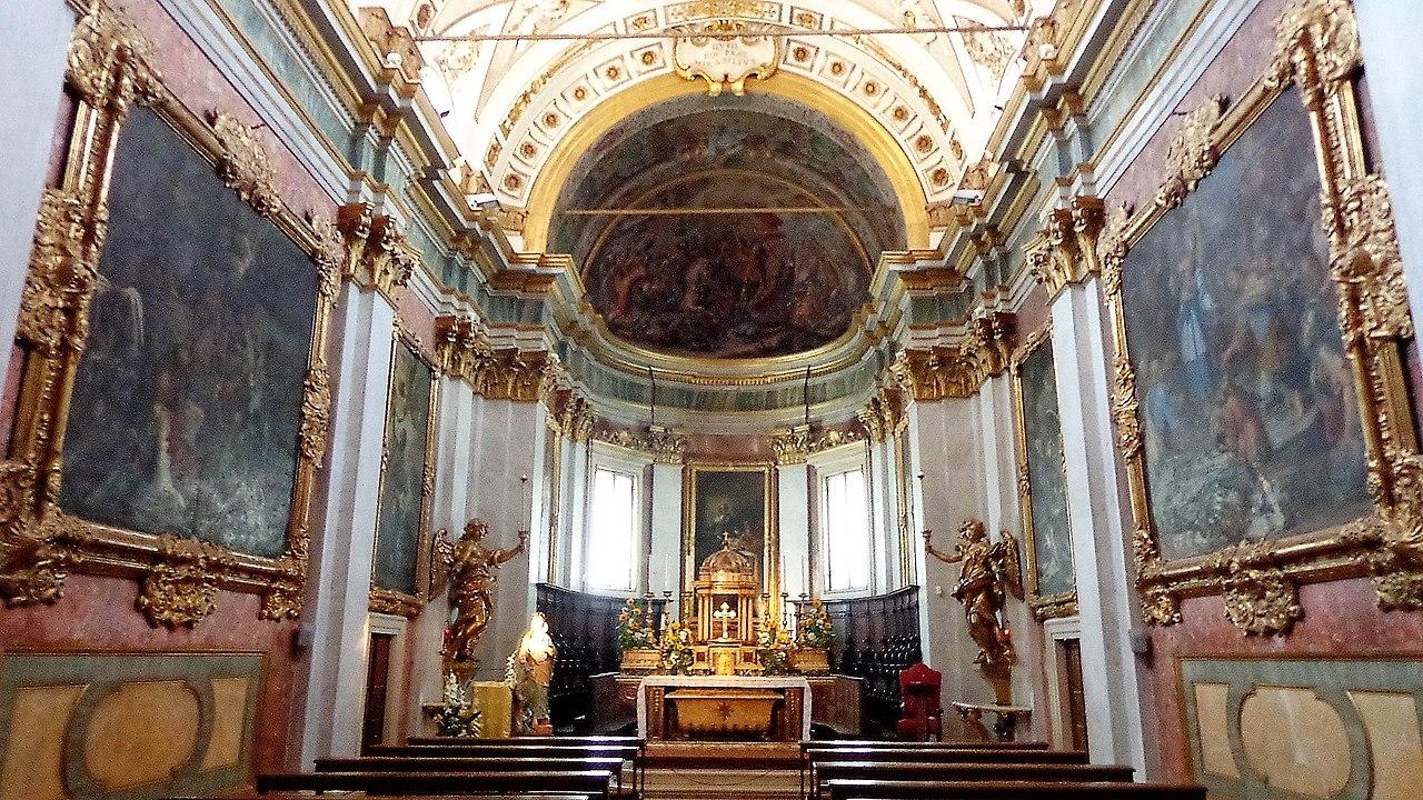 Капелла Святого Таинства ассизи собор сан руфино