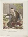 Cebus hypoleucus - 1700-1880 - Print - Iconographia Zoologica - Special Collections University of Amsterdam - UBA01 IZ20200156.tif