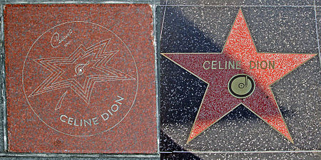 Celine Dion both walk of fame stars.jpg