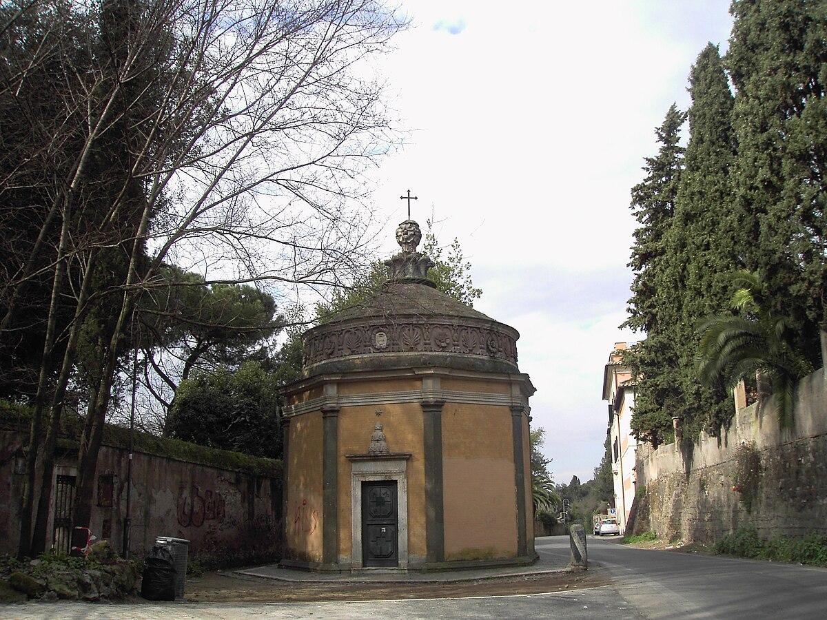 Oratoire san giovanni in oleo wikip dia - Via di porta ardeatina ...