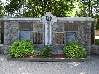 Arthur, Ontario - Arthur Cenotaph