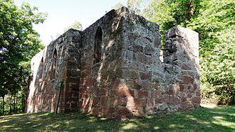 Bürgstadt - Ruin of the 17th-century Centgrafenkapelle