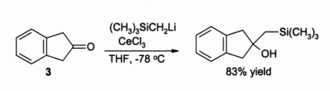 Cerium(III) chloride - CeCl3 directed alkylation reaction