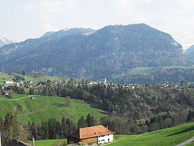 View of Cerniat