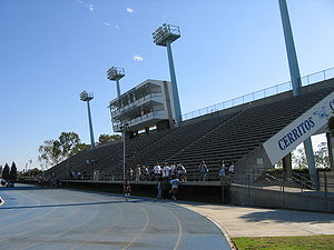 English: Cerritos College Falcon Stadium
