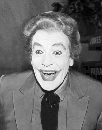 A far cry from the Heath Ledger Joker ...