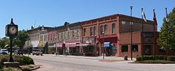 The Chadron Commercial Historic District is listed in the ثبت ملی اماکن تاریخی.
