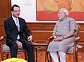 Chairman, Honda Motor Corporation, calls on PM (15069309599).jpg