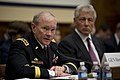 Chairman of the Joint Chiefs of Staff Gen. Martin E. Dempsey testifies before the House Armed Services Committee on the fiscal year 2014 National Defense Authorization Budget Request in the Rayburn Building in Wa 130411-D-BW835-333.jpg
