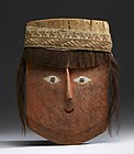 Chancay - Mummy Mask with Wig - Walters 61355.jpg