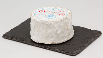 Chaource cheese - Image: Chaource (fromage) 01
