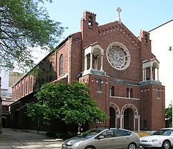 Chapel of St Theresa St Patrick Church - Detroit Michigan.jpg