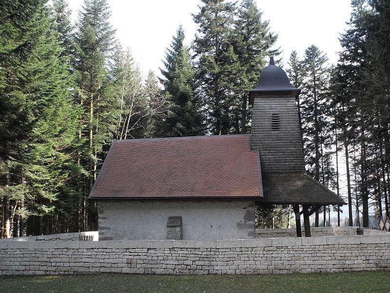 Chapelle Saint-Roch d'Urtière, Doubs, France