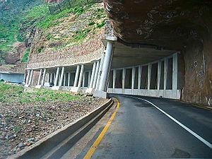 Chapmans Peak Drive, Hout Bay, Cape Town, Sout...