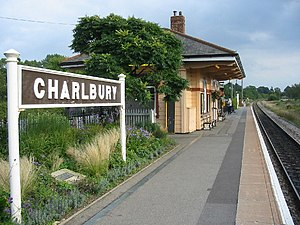 Charlbury railway station - Image: Charlbury Railway Station